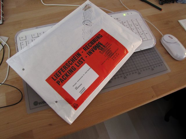 Dicker Briefumschlag